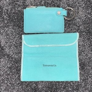 Tiffany & Co. Removable key ring zippered pouch